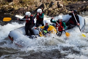 white water rafting fort william